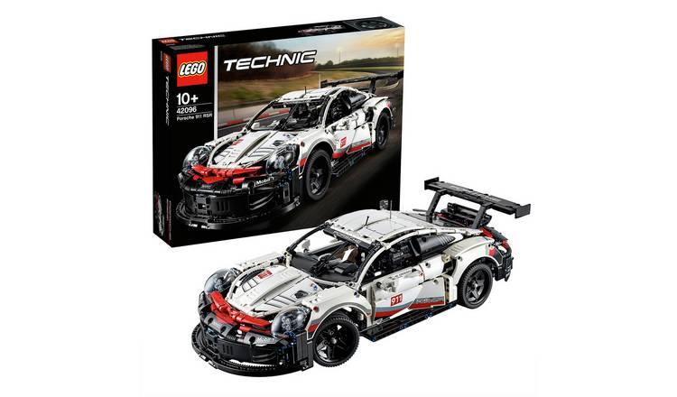 buy lego technic porsche 911 rsr car replica model 42096. Black Bedroom Furniture Sets. Home Design Ideas