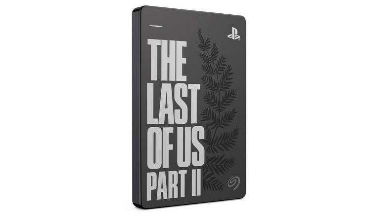 Seagate Last of Us Part II 2TB PS4 Gaming Hard Drive