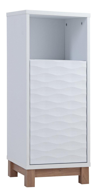 Argos Home Zander Single Unit - White and Oak