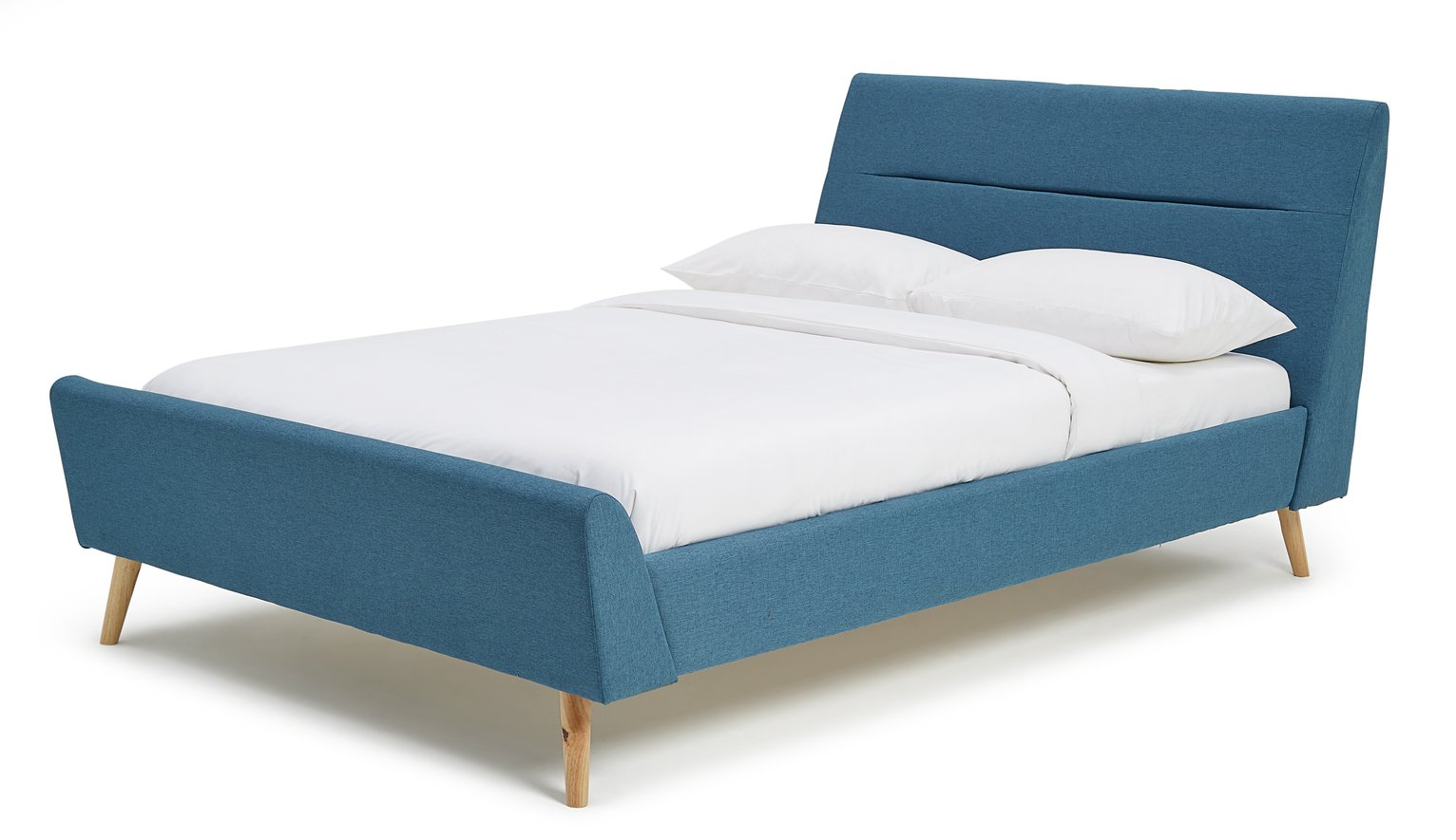 Argos Home Finn Teal Double Bed Frame