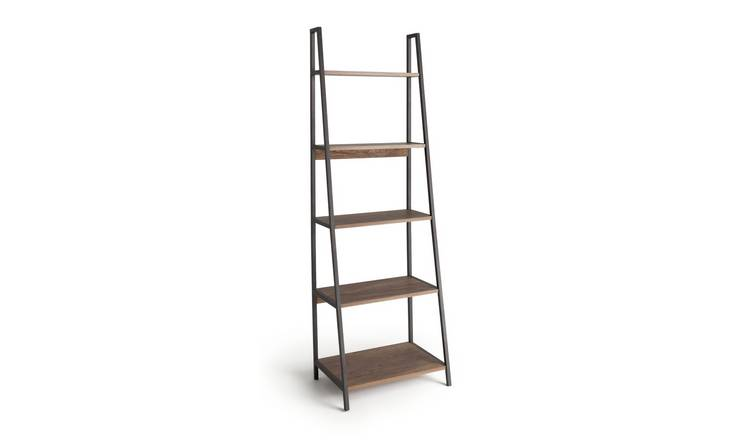 Argos Home Nomad 5 Shelf Leaning Shelving Unit - Oak Effect