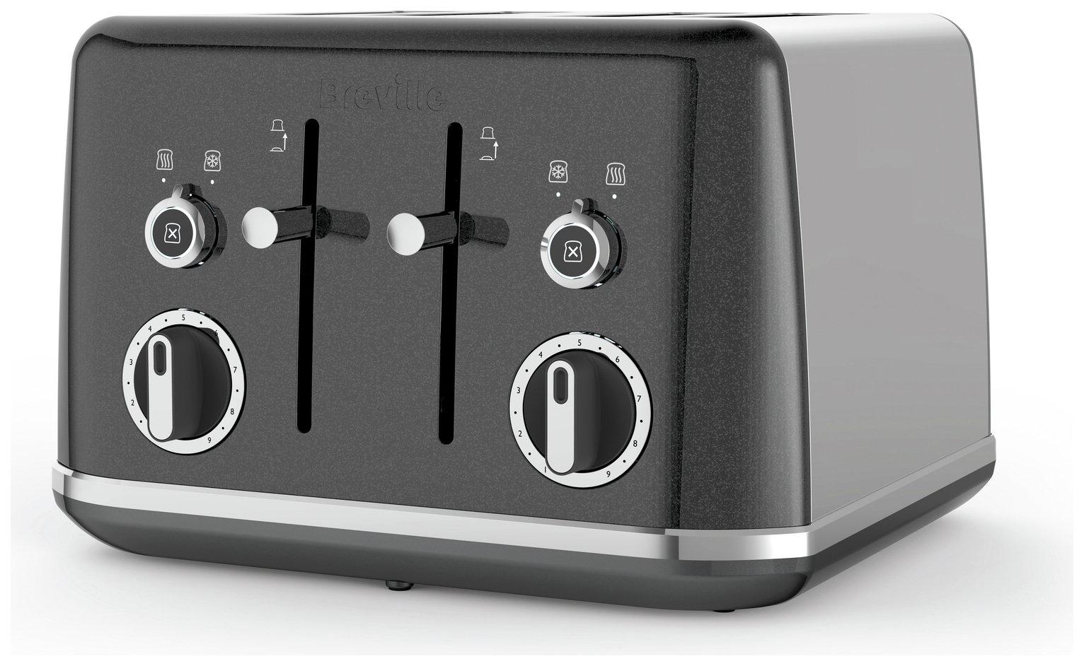 Breville VTT853 Lustra 4 Slice Toaster - Storm Grey