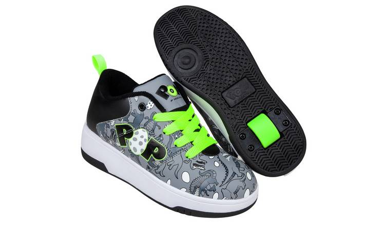 Pop by Heelys Pop Strive Dino Trainers - Size 11