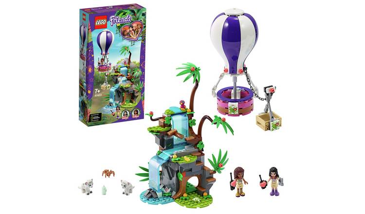 LEGO Friends Tiger Hot Air Balloon Jungle Rescue Set - 41423