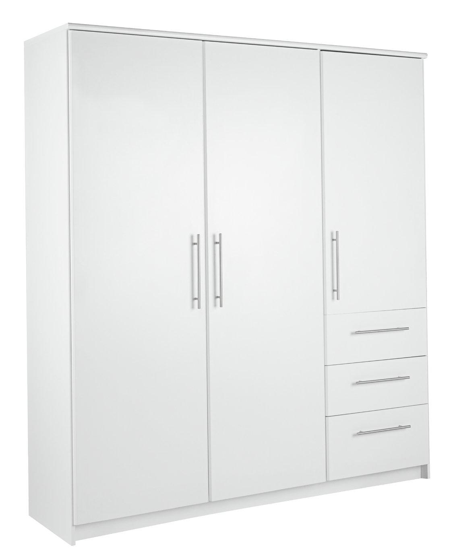 Argos Home Normandy 3 Door 3 Drawer XL Wardrobe