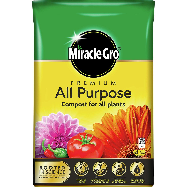 Miracle-Gro All Purpose Premium Compost 40L
