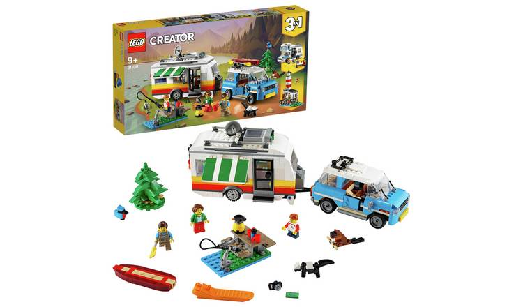 LEGO Creator 3in1 Caravan Family Holiday Car Toy - 31108