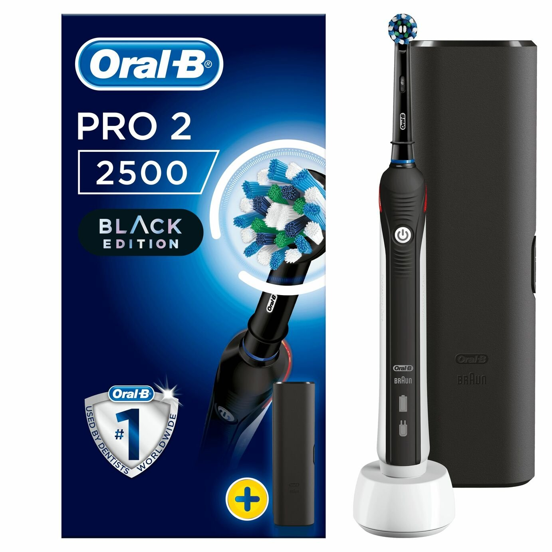 Oral-B Pro 2 2500 Sensitive Electric Toothbrush