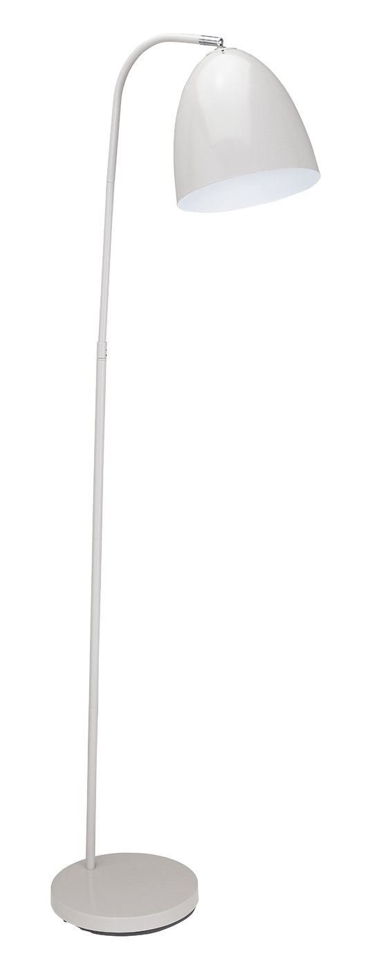 Argos Home Skandi Floor Lamp - Grey