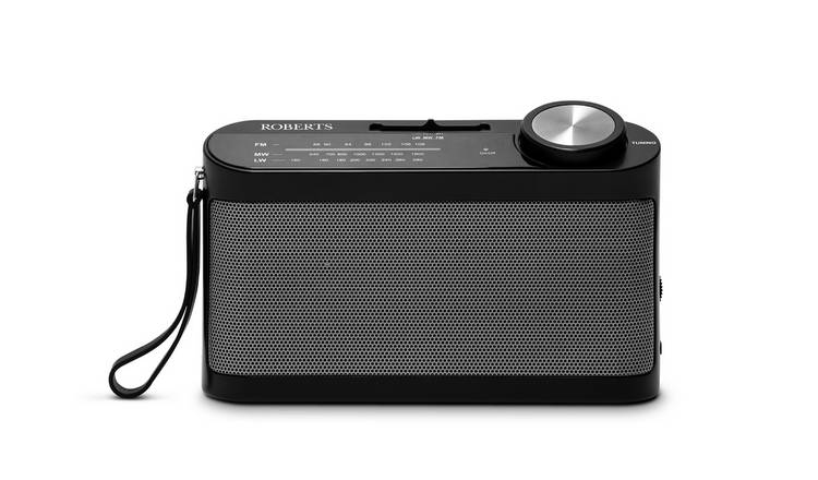Roberts R9993 FM Portable Radio - Black