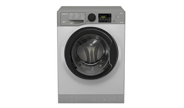 Hotpoint FDL9640G 9KG/6KG 1400 Spin Washer Dryer - Graphite