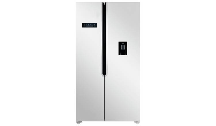 Bush MSBSWTDW20 American Fridge Freezer - White