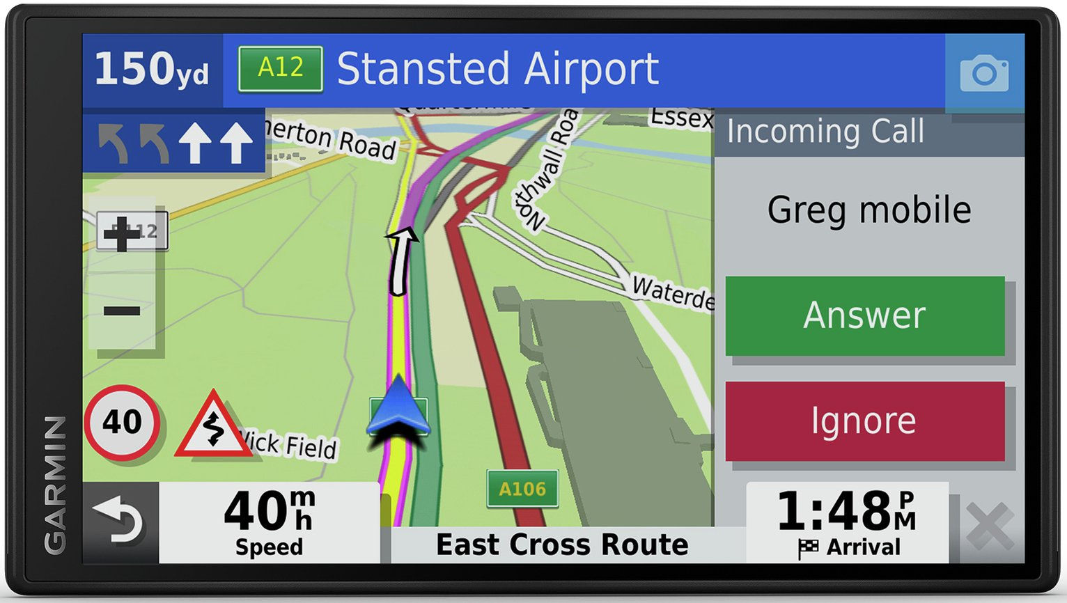 Garmin DriveSmart 55 MT-S 5.5 Inch UK & ROI Traffic Sat Nav
