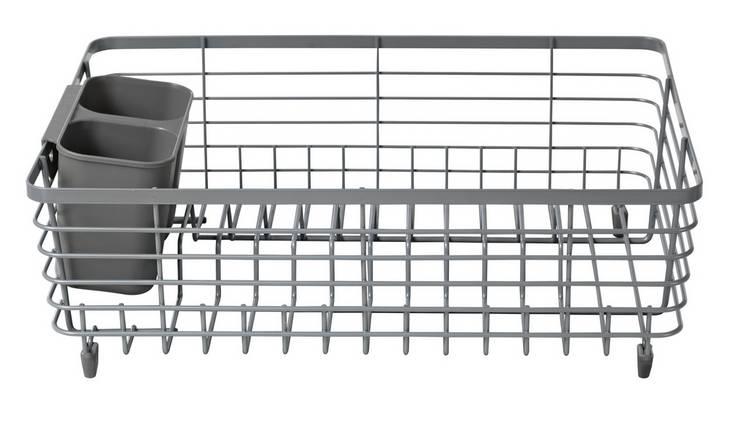 Argos Home Wire Dish Rack - Grey