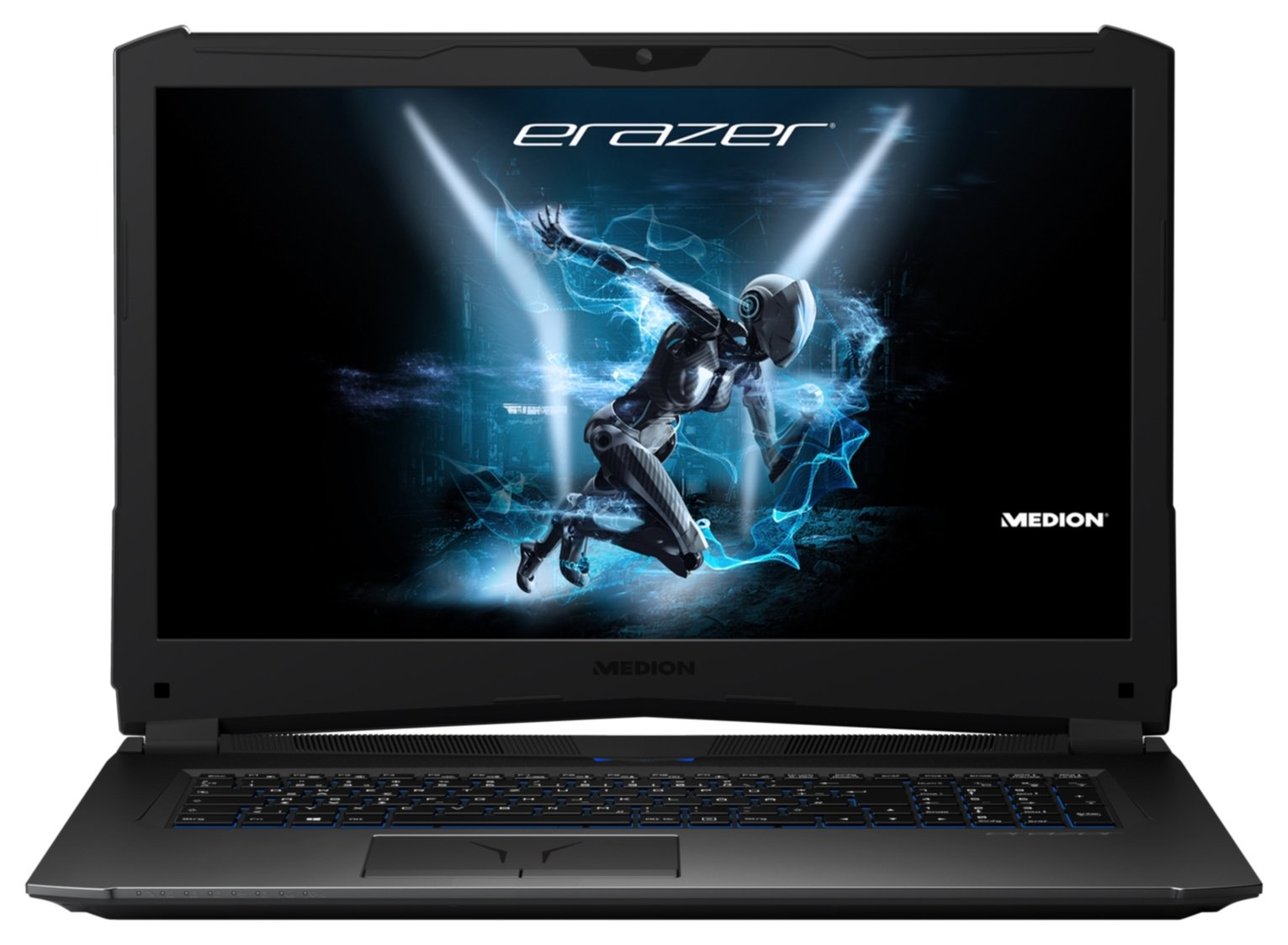 Medion Erazer 17in i7 8GB 2TB 256GB GTX1060 Gaming Laptop