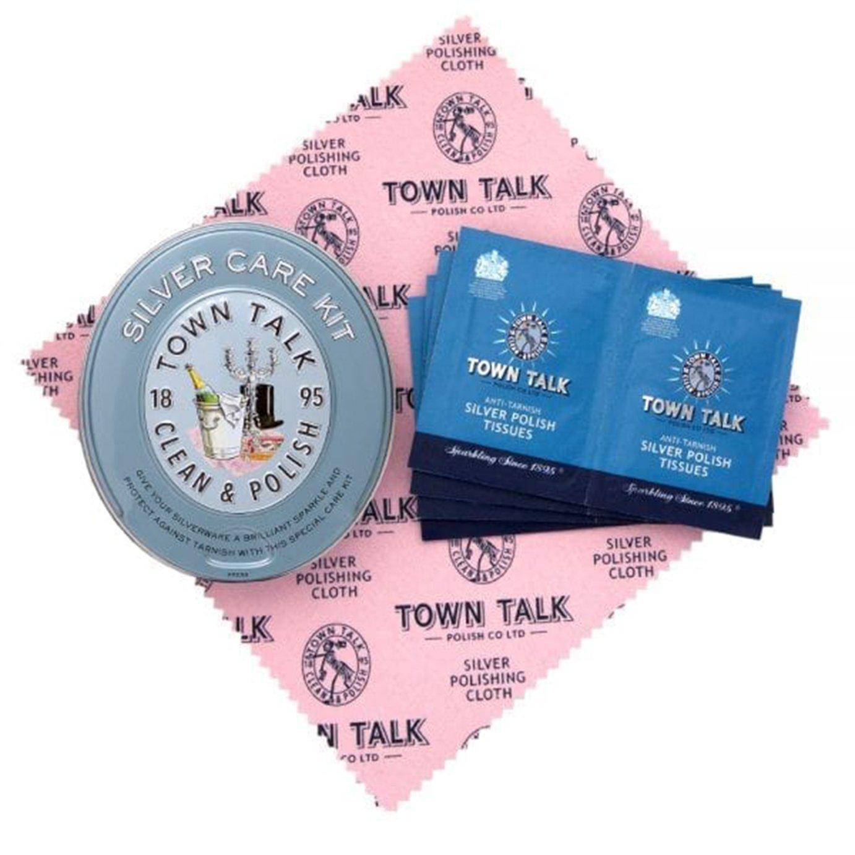 Town Talk Polish Silver Tissues and Cloth