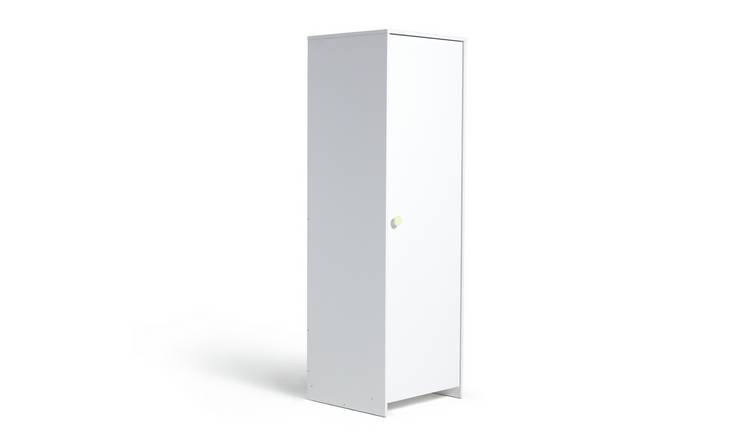 Argos Home Juno 3 Piece 1 Door Wardrobe Set - White