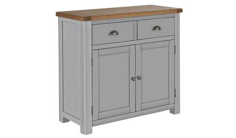 Habitat Kent 2 Door 2 Drawer Sideboard - Light Grey