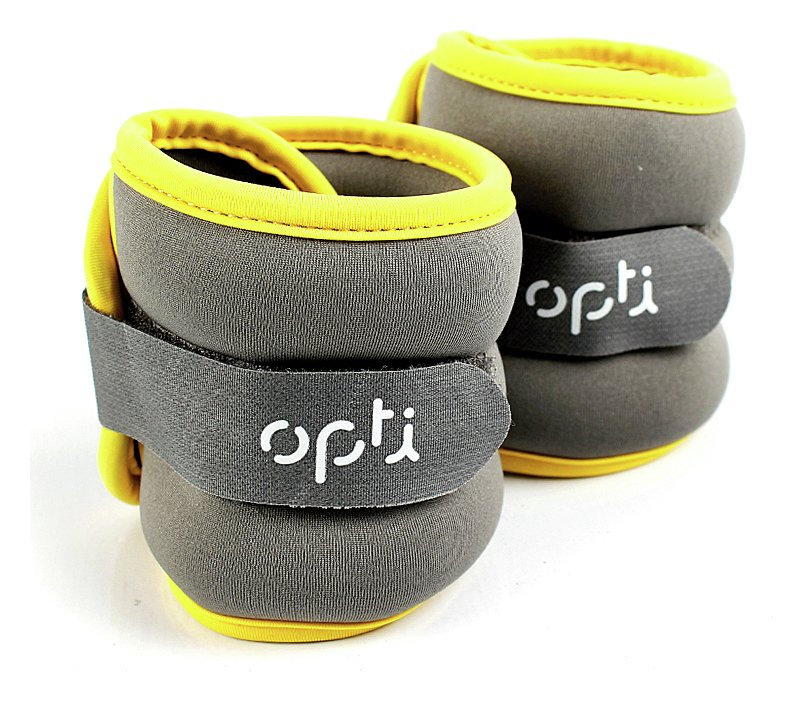 Opti Wrist and Ankle Weights - 2 x 0.5kg