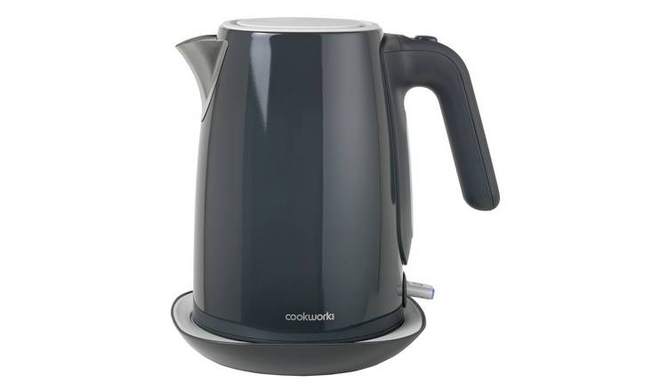 Cookworks Manhattan Kettle - Grey