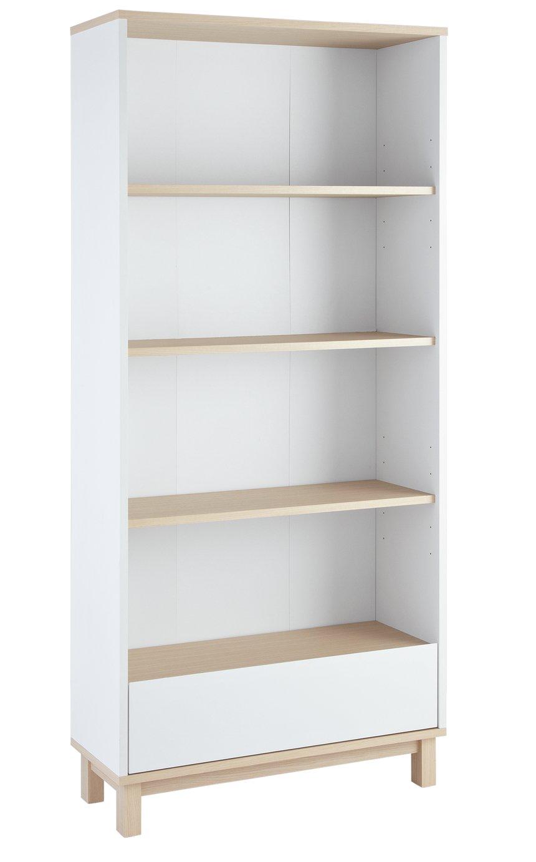 Argos Home Essel Bookcase - Two Tone