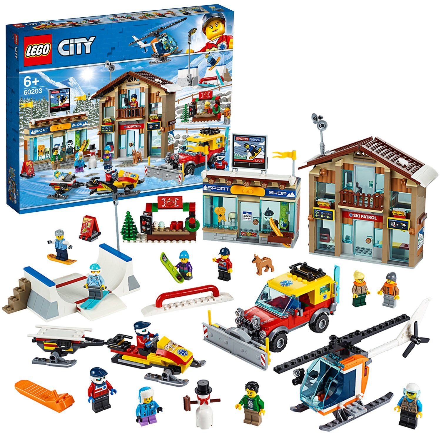 LEGO City Extra Town 2019 Playset - 60203
