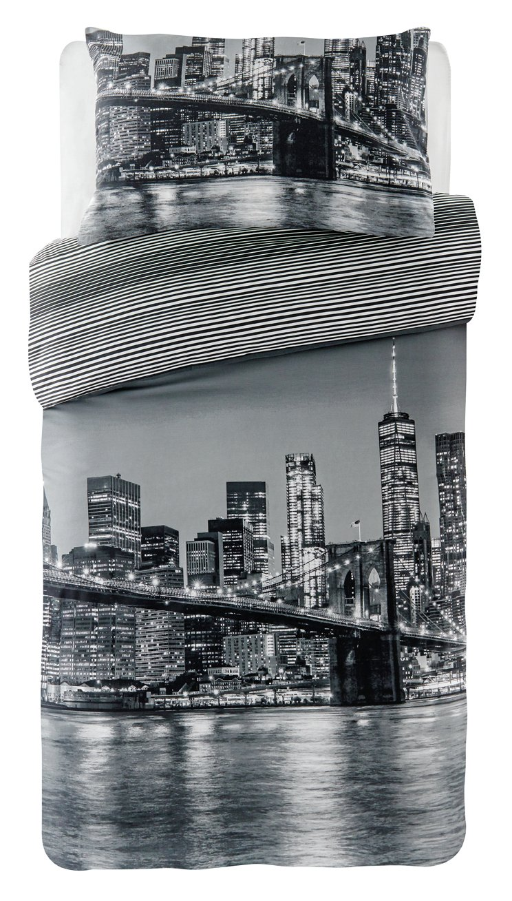 Argos Home New York Bedding Set - Single