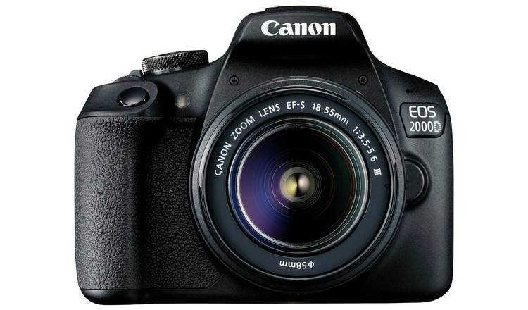 Canon EOS 2000D DSLR Camera with 18-55mm DC Lens