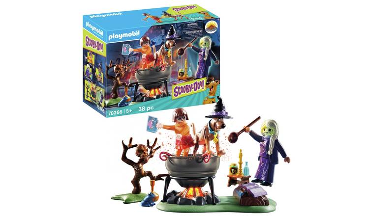 Playmobil 70366 Scooby-Doo! Adventure in the Witchs Cauldron
