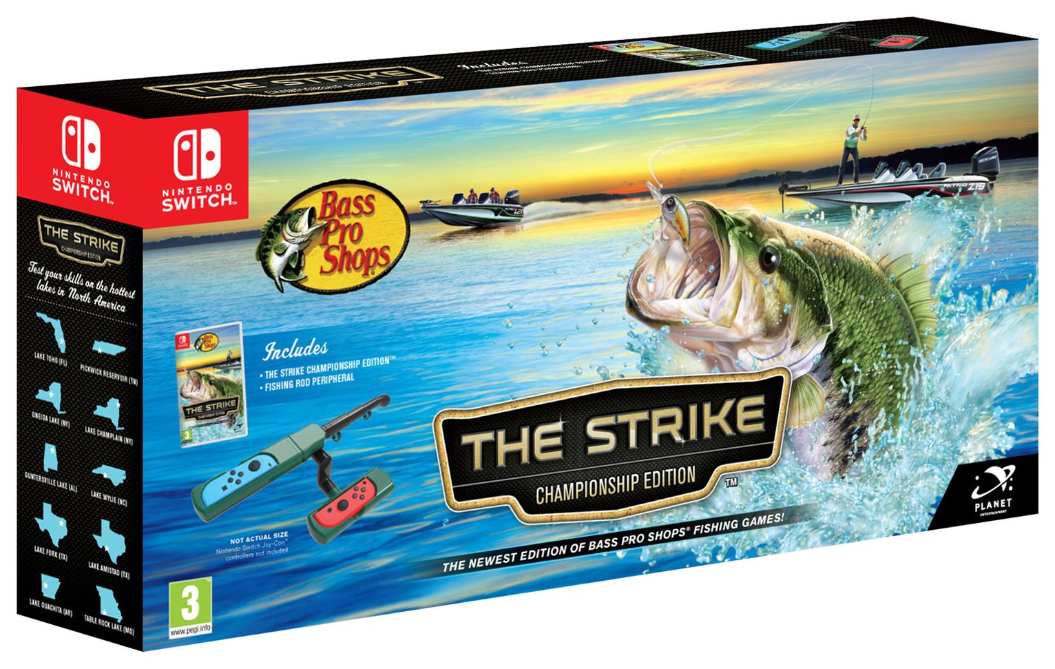 Bass Pro Shops: The Strike Championship Nintendo Switch Game review
