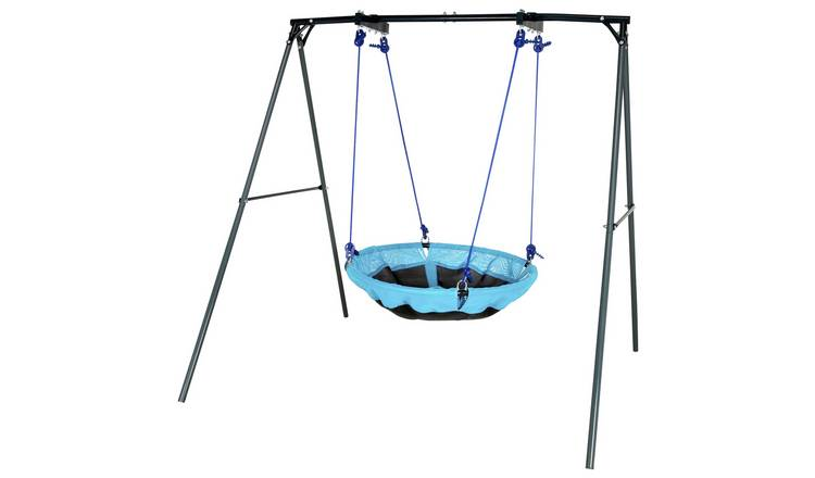 Chad Valley Kids Garden Nest Swing - Blue