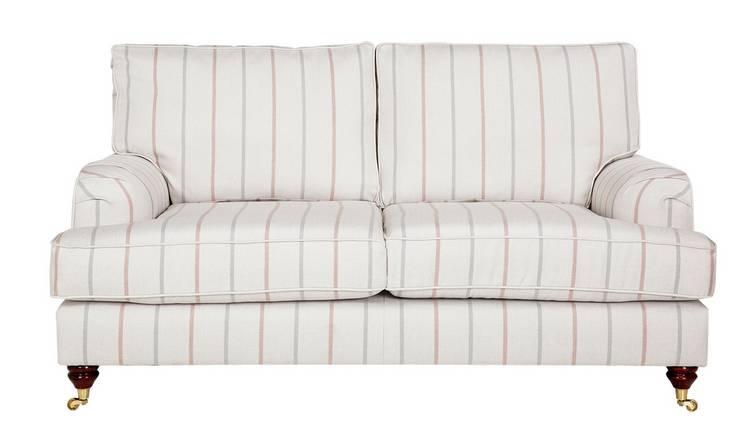 Outstanding Buy Argos Home Abberton 2 Seater Fabric Sofa Natural Pink Sofas Argos Machost Co Dining Chair Design Ideas Machostcouk