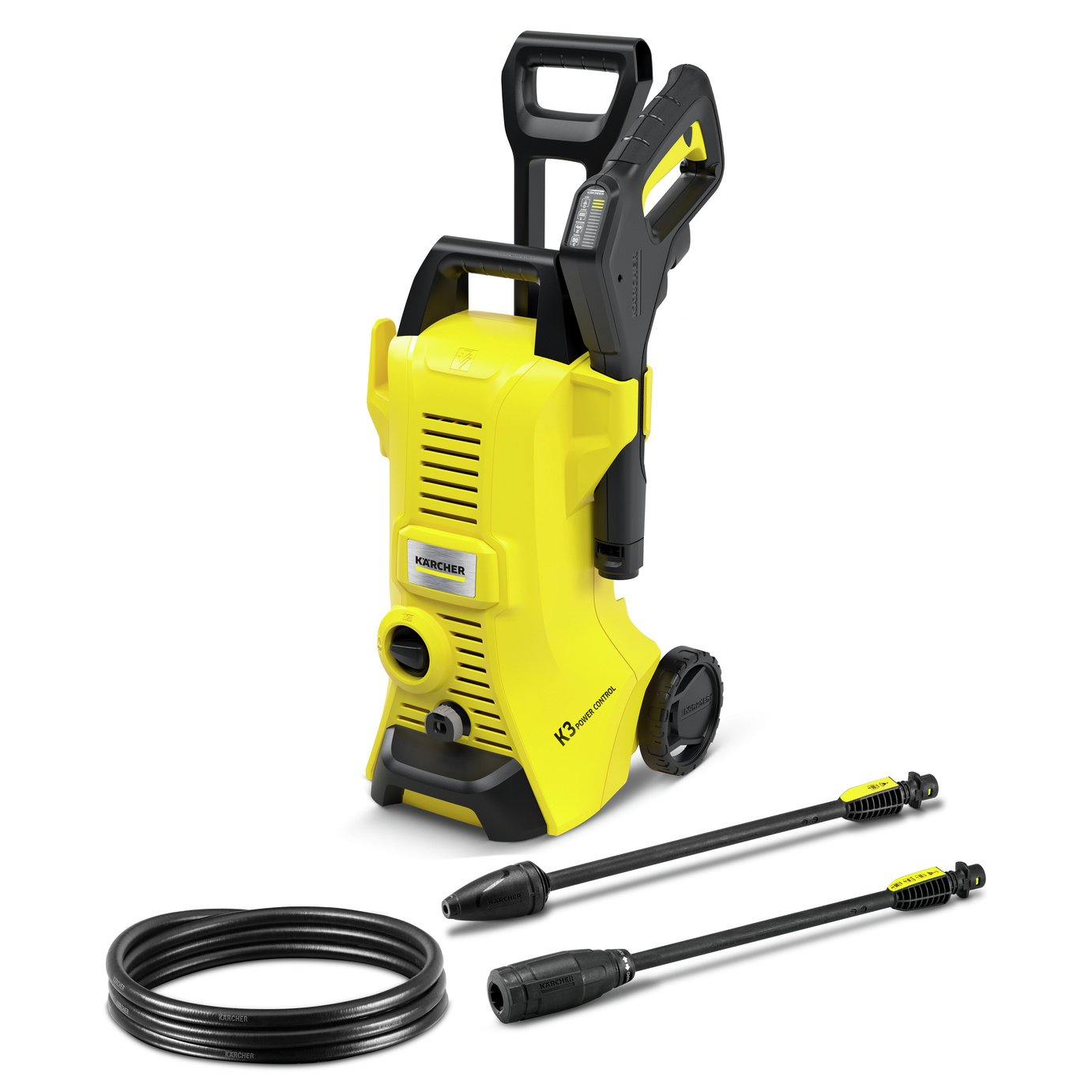 Karcher K3 Power Control Pressure Washer - 1600W
