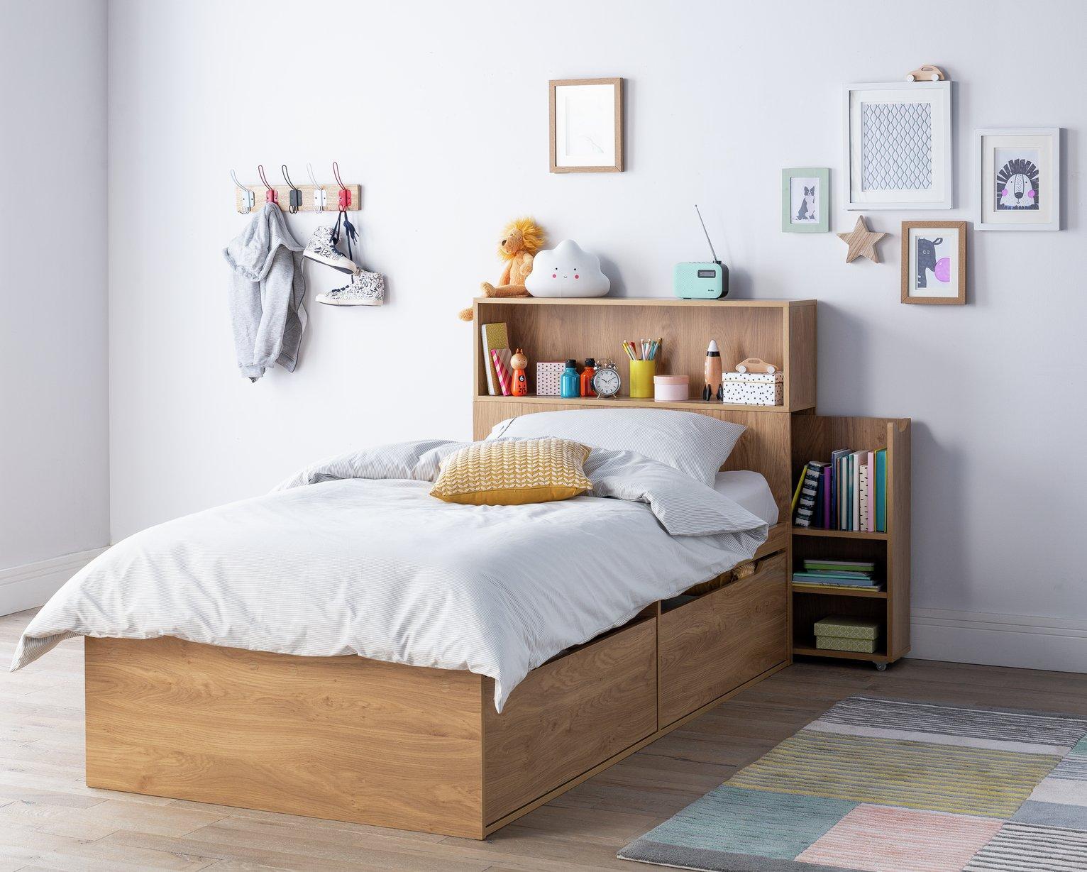 Argos Home Lloyd Oak Effect Cabin Bed, Headboard & Mattress review