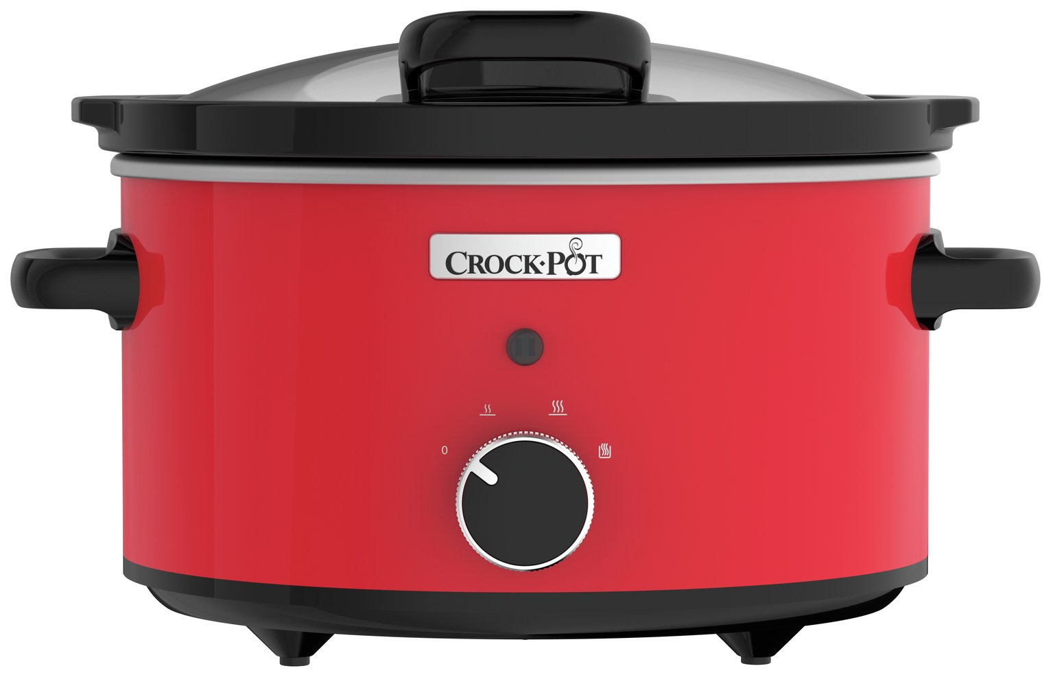 Image of Crock-Pot 3.5L Hinged Lid Slow Cooker - Red