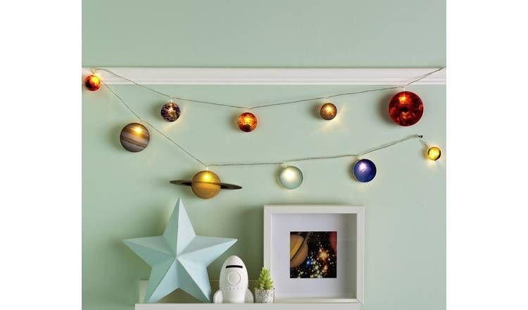 Buy Fizz Creations Children S 2m Space String Lights Kids Lighting Argos