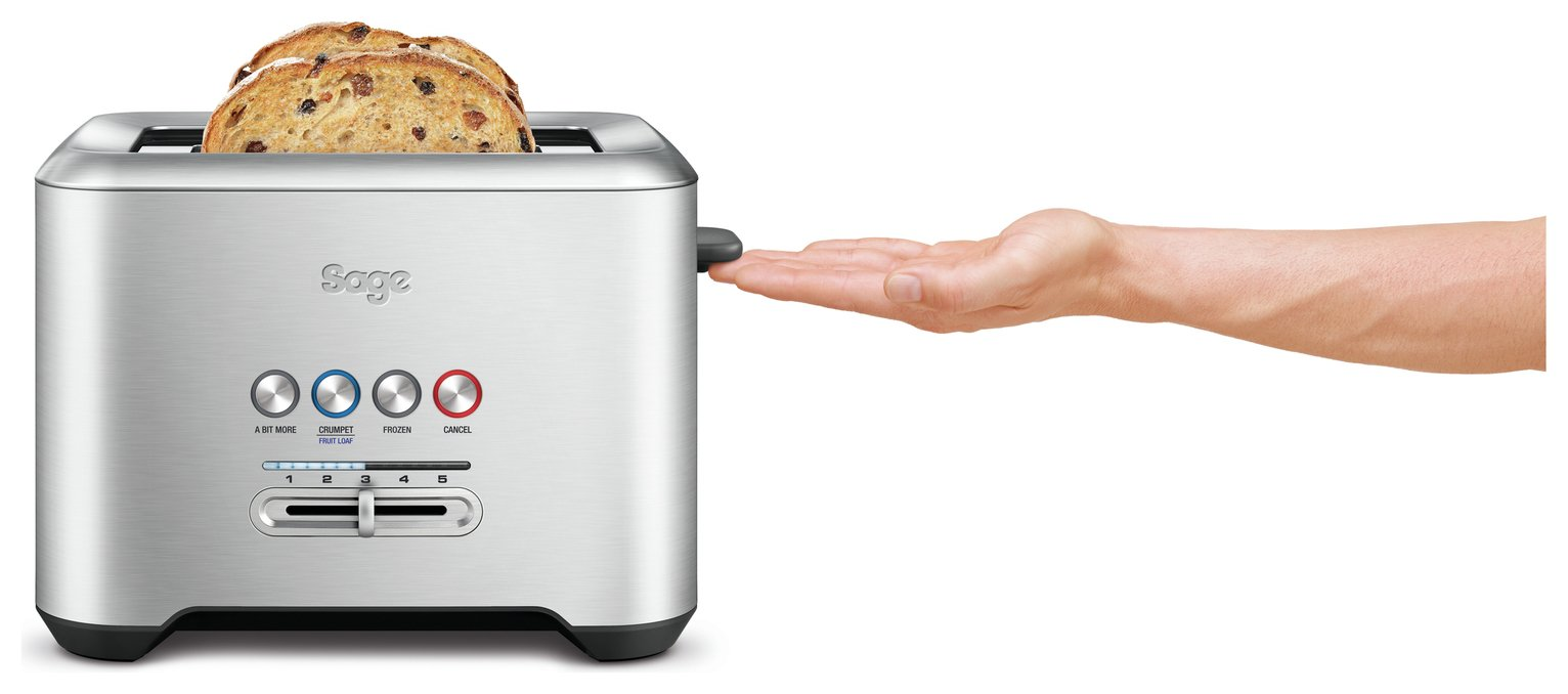 Sage A Bit More 2 Slice Toaster