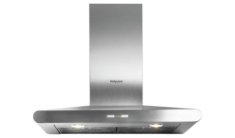 Hotpoint PHC7.7FLBIX 70cm Cooker Hood - Stainless Steel