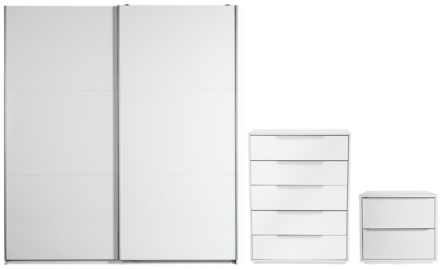 Argos Home Holsted Large White Gloss 3 Piece Package review