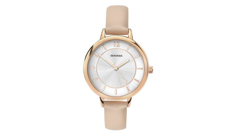 Sekonda Editions Ladies Cream Strap Watch