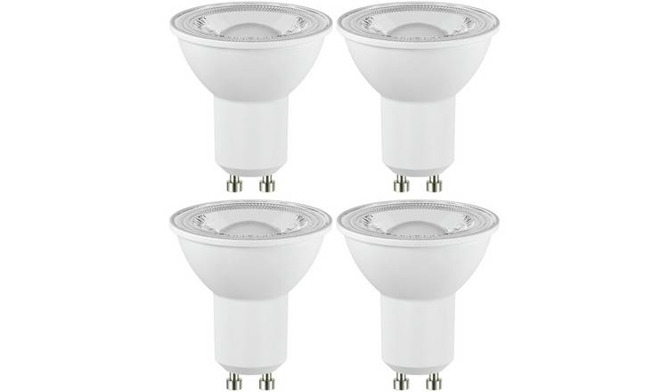Argos Home 4W LED GU10 Dimmable Light Bulb - 4 Pack
