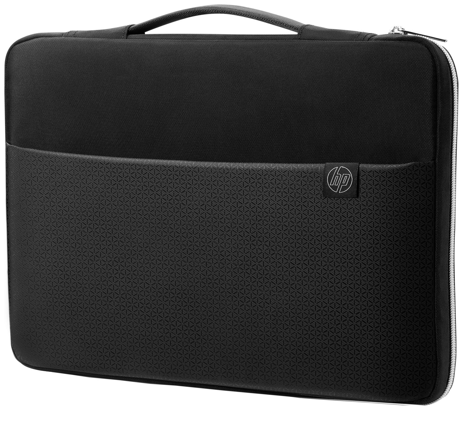 HP 15.6 Inch Laptop Sleeve - Black and Silver