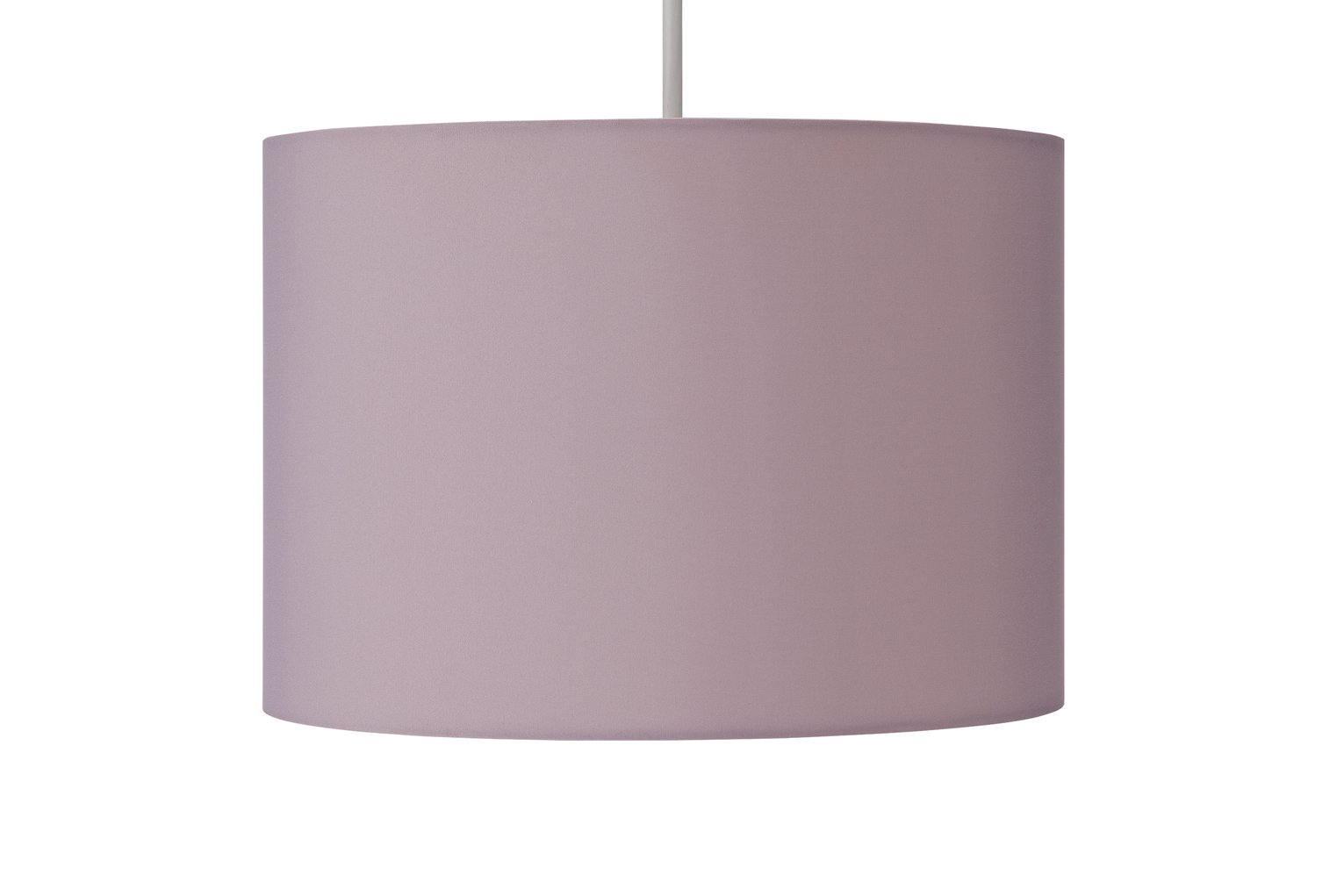 Argos Home Drum Shade - Blush Pink