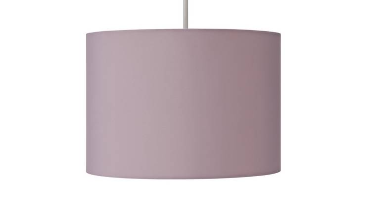 Argos Home Drum Shade - Blush Pink