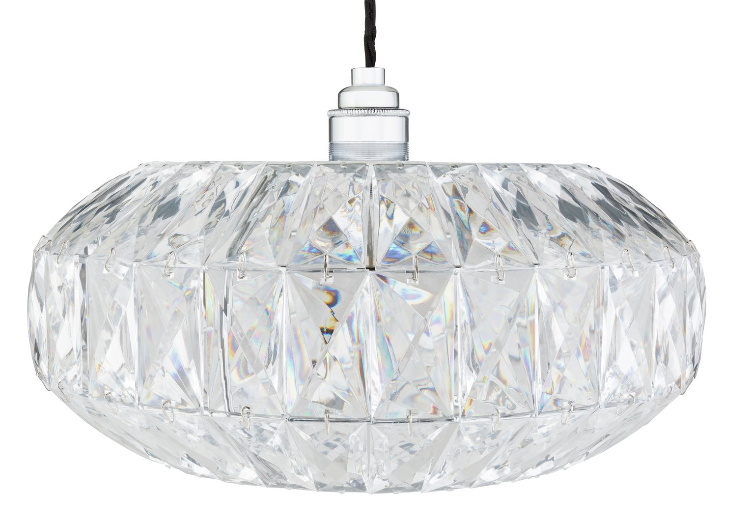 Argos Home Savannah Acrylic Ceiling Pendant Light