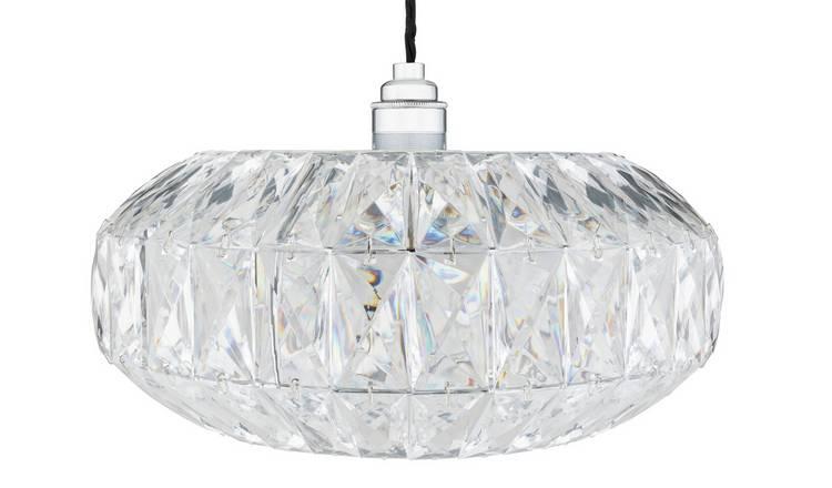 Buy Argos Home Savannah Acrylic Ceiling Pendant Light