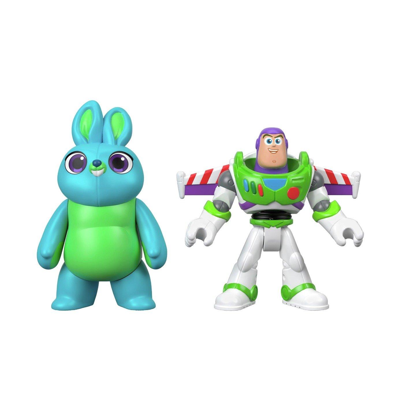 Disney Pixar Toy Story 4 Buzz Lightyear & Bunny - 2 Pack