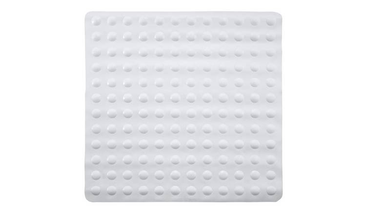 Buy Argos Home Rubber In Shower Bath Mat White Bath