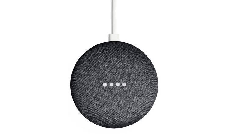 Buy Google Home Mini - Charcoal   Smart speakers   Argos