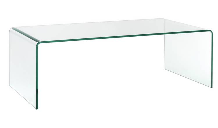 Habitat Gala Tempered Glass Coffee Table